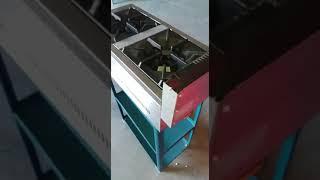 video cocina 2 fuegos vertical