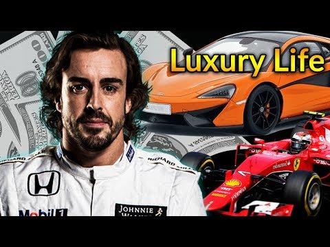 Fernando Alonso Luxury Lifestyle | Bio, Family, Net worth, Earning, House, Cars