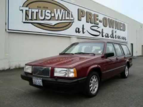 Who Owns Volvo >> Pre-Owned 1994 Volvo 940 Tacoma WA - YouTube