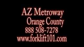 Reconditioned Forklift Battery Orange County 1888 508-7278