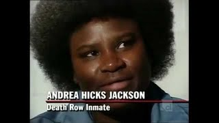 DEATH ROW STORIES ANDREA HICKS JACKSON