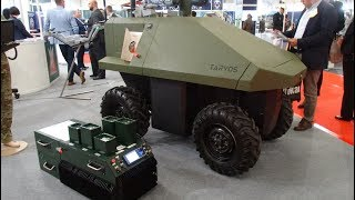 TARVOS UGV New Polish Unmanned Ground Vehicle MSPO 2017 Kielce presentation - Nasze Kielce
