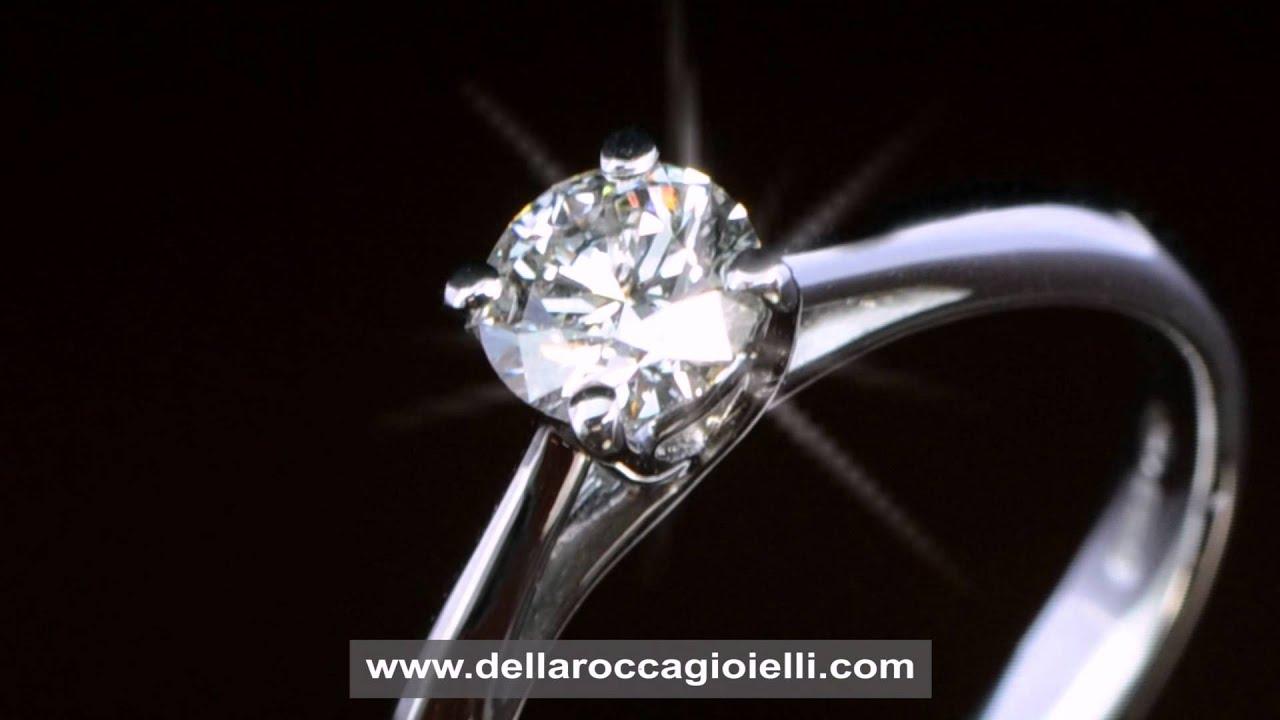 Preferenza Anello Diamante Prezzo - YouTube DO22