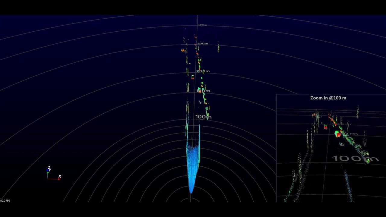 Livox LiDAR – Tele-15 Point Cloud Video #1