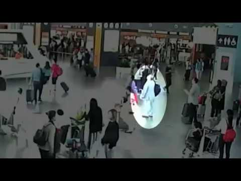 New CCTV shows moment Kim Jong Nam assassinated