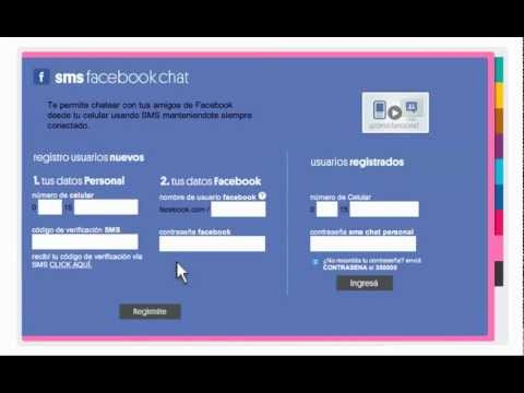 SMS Facebook Chat - Telecom Personal