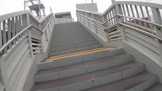 勝川駅でJR中央本線からTKJ城北線に乗り換えて見た。
