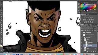 Superhero Time lapse - KWEZI