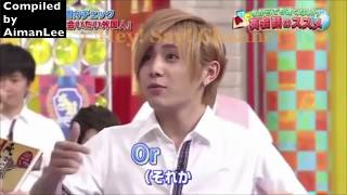 Japanese celebrities speaking English 3 (Reuploaded w/ cuts)