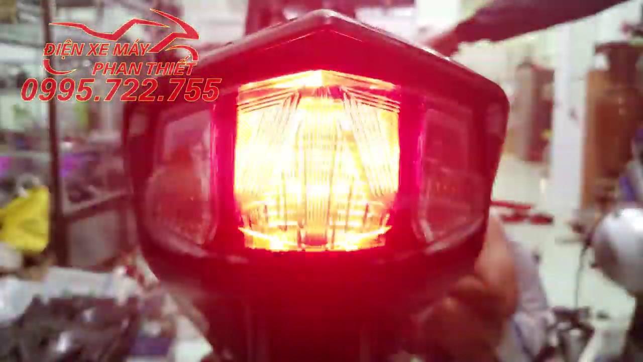 Mạch chớp đèn stop F1 xe máy 4 chế độ