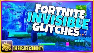 TOUS LES NOUVEAUX PÉPINS INVISIBLES - 'VERY FAST' XP GLITCH FARMING UNDER MAP ON FORTNITE SEASON 6 (OCT 2018)