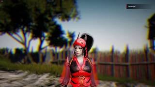 Black Desert Online - 57 Kunoichi Awakening Gameplay - PVE