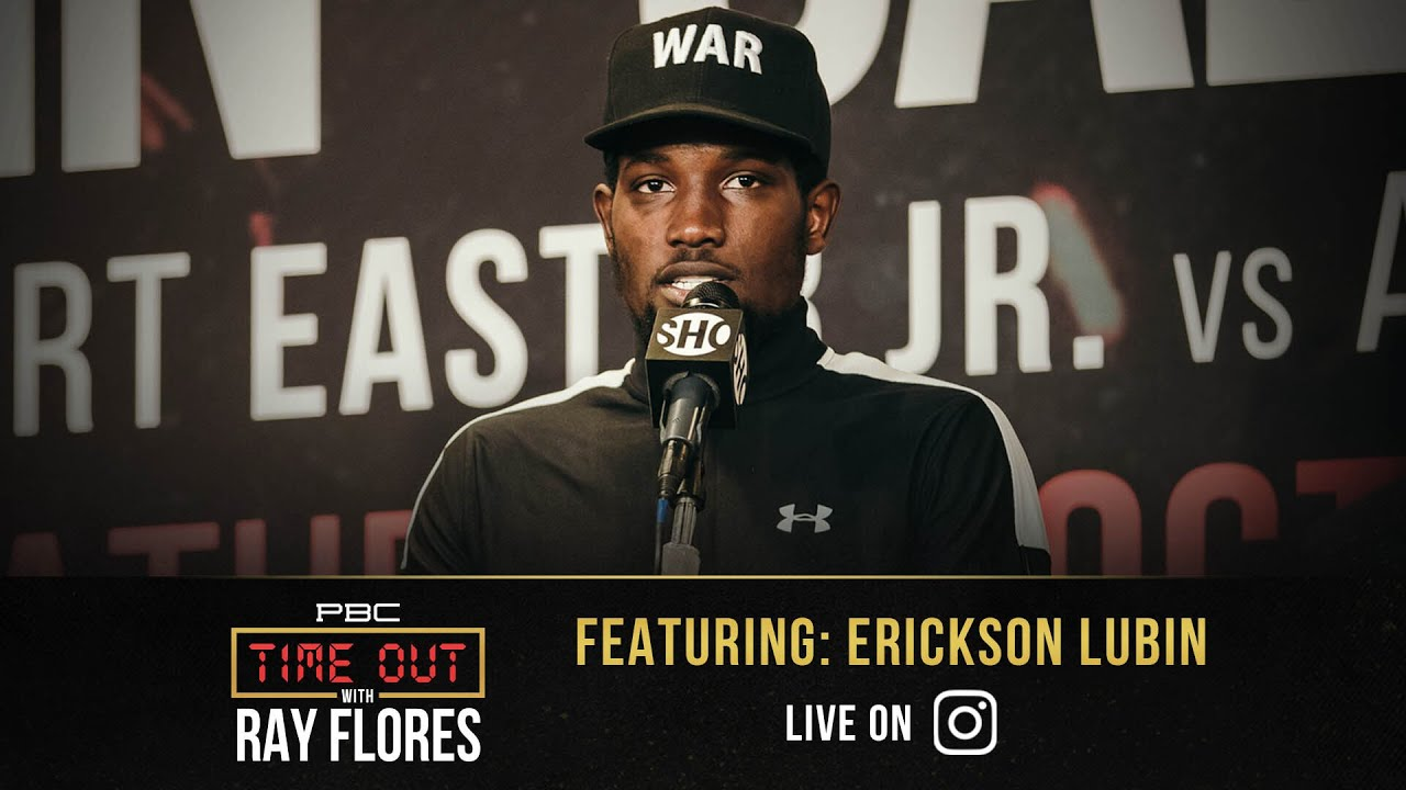 Erickson Lubin Promises a Dominant Victory over Terrell Gausha | Time Out with Ray Flores