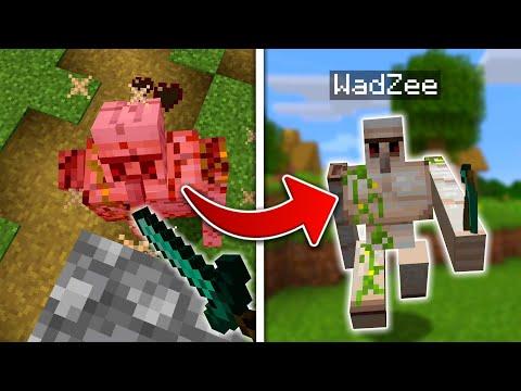 Minecraft but I Transform Into EVERY Mob I Kill
