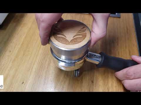 3 Minutes of Coffee - Espresso Distribution using Tools