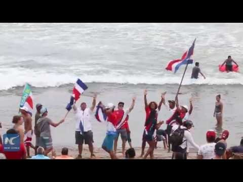 Costa Rica prepares for World Surfing Games