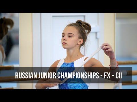 Личное Первенство России 2019 года - вольные упражнения - CII - многоборье