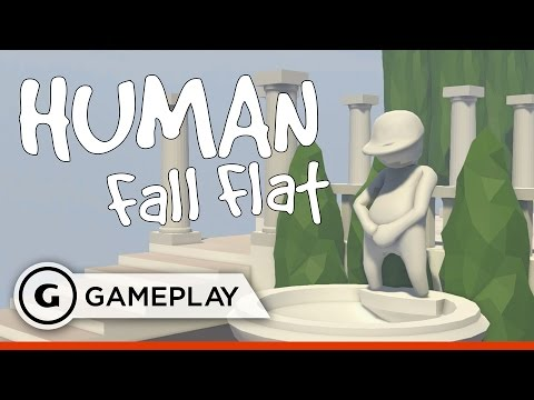 13 Minutes of Human: Fall Flat Gameplay - GDC 2016