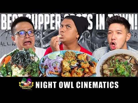 FOOD KING: BEST LATE NIGHT SUPPER BUFFET?!