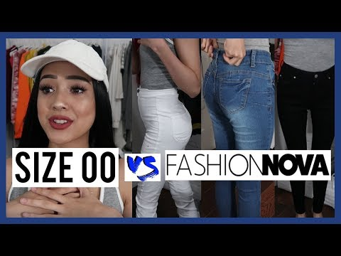 FASHION NOVA JEANS HAUL: SKINNY GIRL! SIZE 0, 1, XS | YenSauce