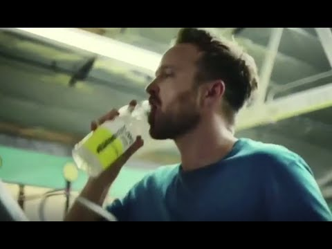 Vitaminwater Commercial 2017 Aaron Paul Drink Outside the Lines
