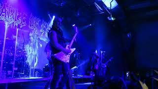 CRADLE OF FILTH - club Roxy, Prague - 18. 1. 2018
