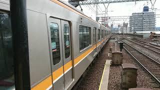 鶴橋駅で区間準急のA28の発車の様子