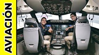 PILOTEANDO UN BOEING 787! | Alex Tienda