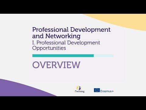 eTwinning Self Teaching Materials - Professional Development Opportunities