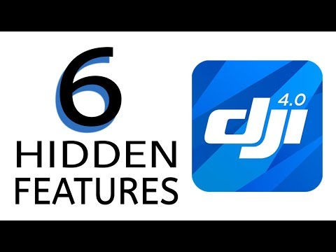 6 Hidden Features DJI GO 4 App - Mavic Pro Air Platinum Spark Phantom 4