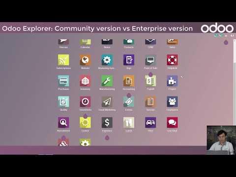 Odoo Explorer: Community Version Vs Enterprise Version