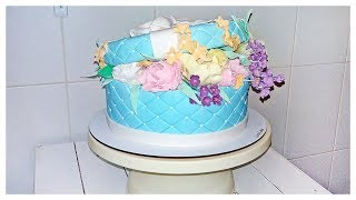 Торт Коробка С Цветами Тренд 2019! Сборка и Оформление | Cake Box With Flowers