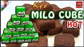 Cách làm KẸO MILO CUBE ngon đơn giản tại nhà   MILO CUBE   MILK CUBE  ❤️