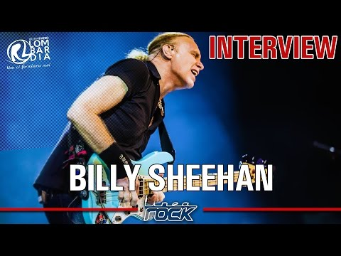 BILLY SHEEHAN (MR BIG) - interview @Linea Rock 2016 by Barbara Caserta