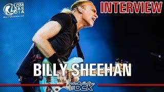 BILLY SHEEHAN (MR BIG) - interview @Linea Rock 2016 by Barbara Caserta