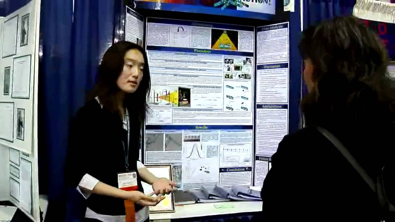 Intel Science Fair >> Amy Chyao, Top Winner of the Intel International Science and Engineering Fair 2010 - YouTube