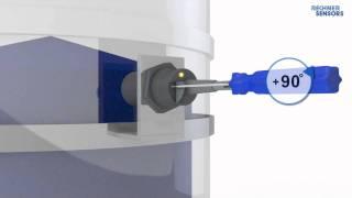 Einstellanleitung für bündig einbaubare kapazitive Sensoren von RECHNER Sensors