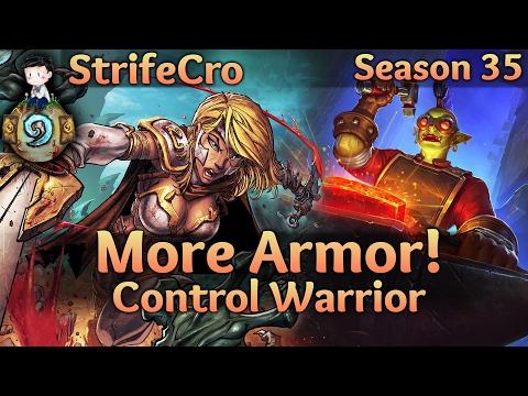 Hearthstone Control Warrior: More Armor!