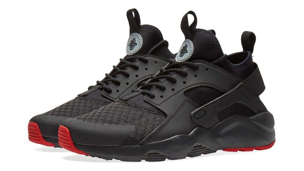 fcfbbf9d13e14 Nike Air Huarache Run Ultra Black