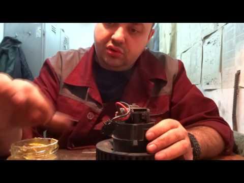 Как снять печку на шкода октавия а5 видео