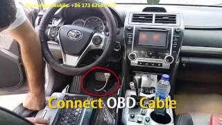 видео Программирование смарт-ключа при потере всех ключей Toyota или Lexus через эмулятор ключа для Tango