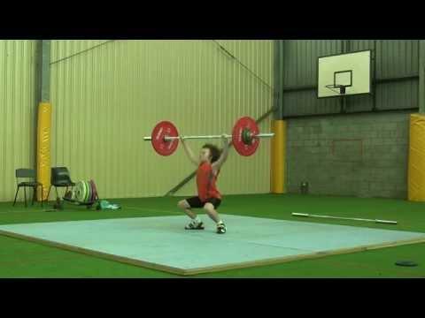 Australian Record - Under 15 - 38kg - Jett Gaffney - 32kg snatch