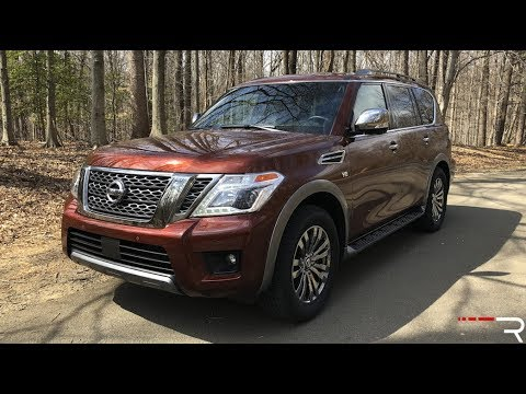 2018 Nissan Armada Platinum – An Aging Infiniti For Nissan Money