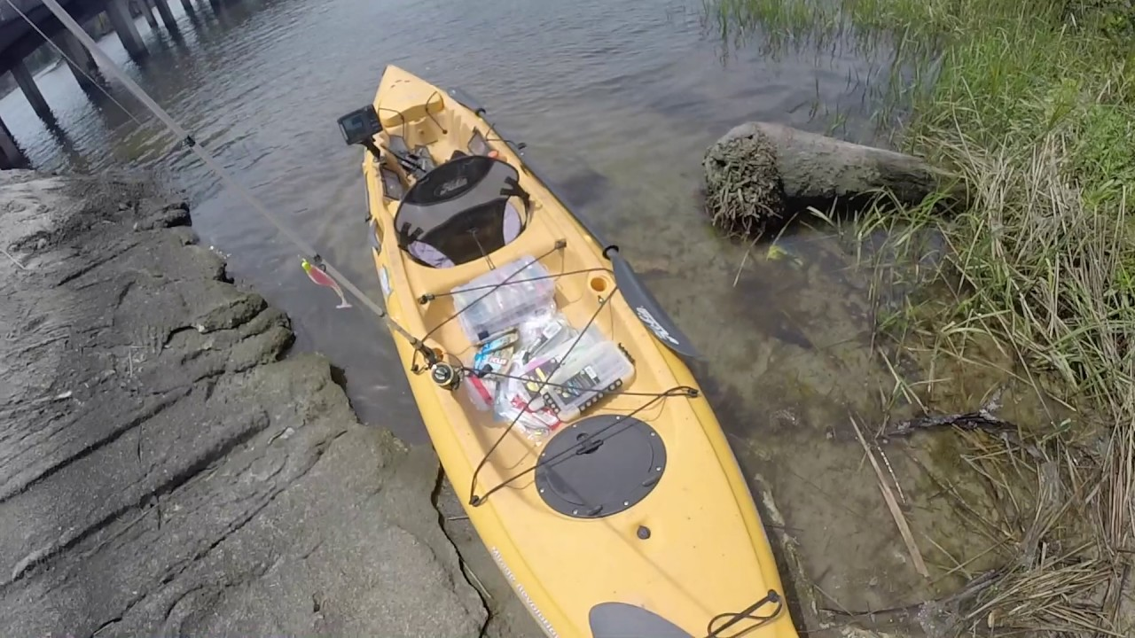 Florida Kayak Fishing Road Trip Part 2. Bass, Redfish, Gar, Catfish etc