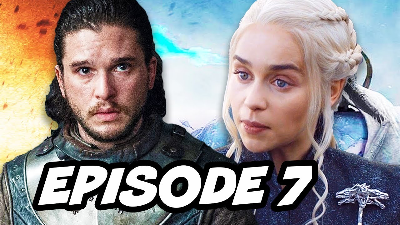 Download Game Of Thrones Season 7 Episode 7 Finale - TOP 10 WTF and Easter Eggs