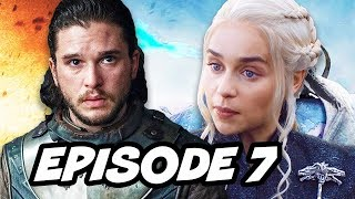 Game Of Thrones Season 7 Episode 7 Finale - TOP 10 WTF and Easter Eggs