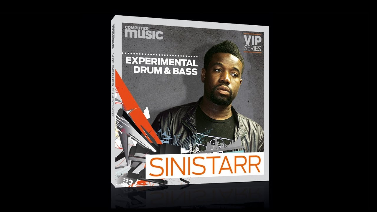 Sinistarr VIP Series sample pack - FREE with Computer Music 180