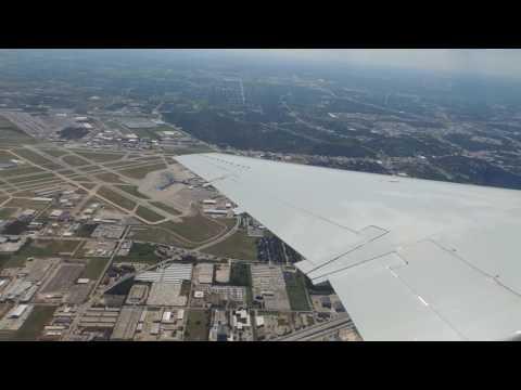 American Eagle (Envoy) Embraer ERJ-145 [N651AE] Push Back, Taxi, And Takeoff From HOU