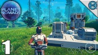 Planet Nomads | Scifi Survival Building Game | Let