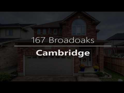 167 Broadoaks, Cambridge ON